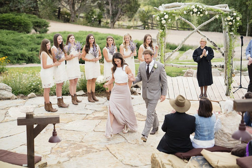 Rustic Chic Dream Ranch Wedding Brush Creek Wyoming Photo By Otto Schulze