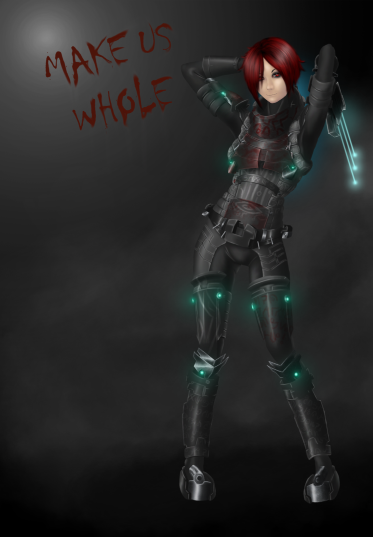 Dead Space girl Re-mastered by Hazard-Trooper on DeviantArt