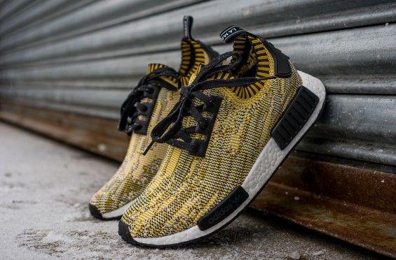 adidas nmd runner pk giallo mimetico 7 scarpe adidas nmd pinterest