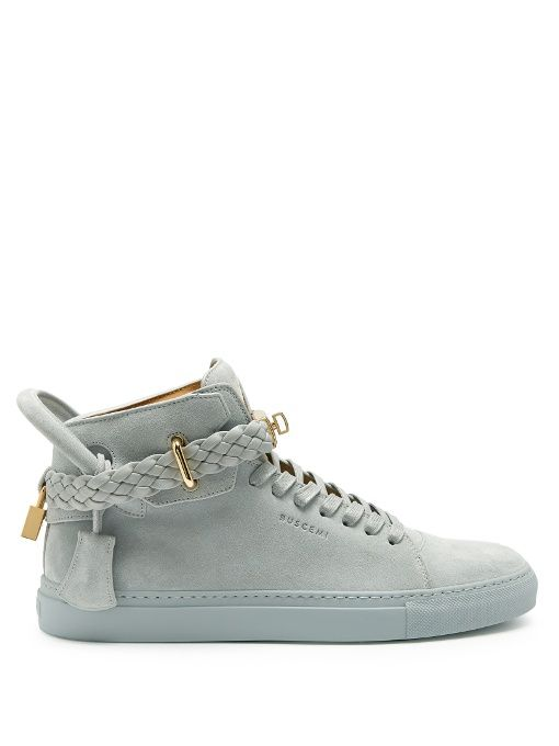 bd9ebb316216aa BUSCEMI 100Mm Weave High-Top Trainers.  buscemi  shoes  sneakers ...