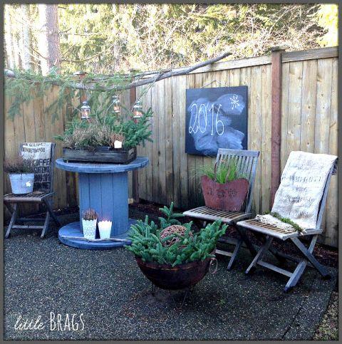 Gardens Wintery Outdoor Decor