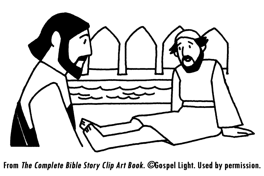 Jesus Heals Man By Pool- Teaching Resources | JESUS HEALS THE MAN AT ...