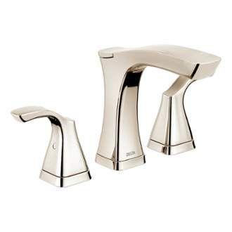 Delta 3552-MPU-DST   Delta faucets, Widespread bathroom faucet