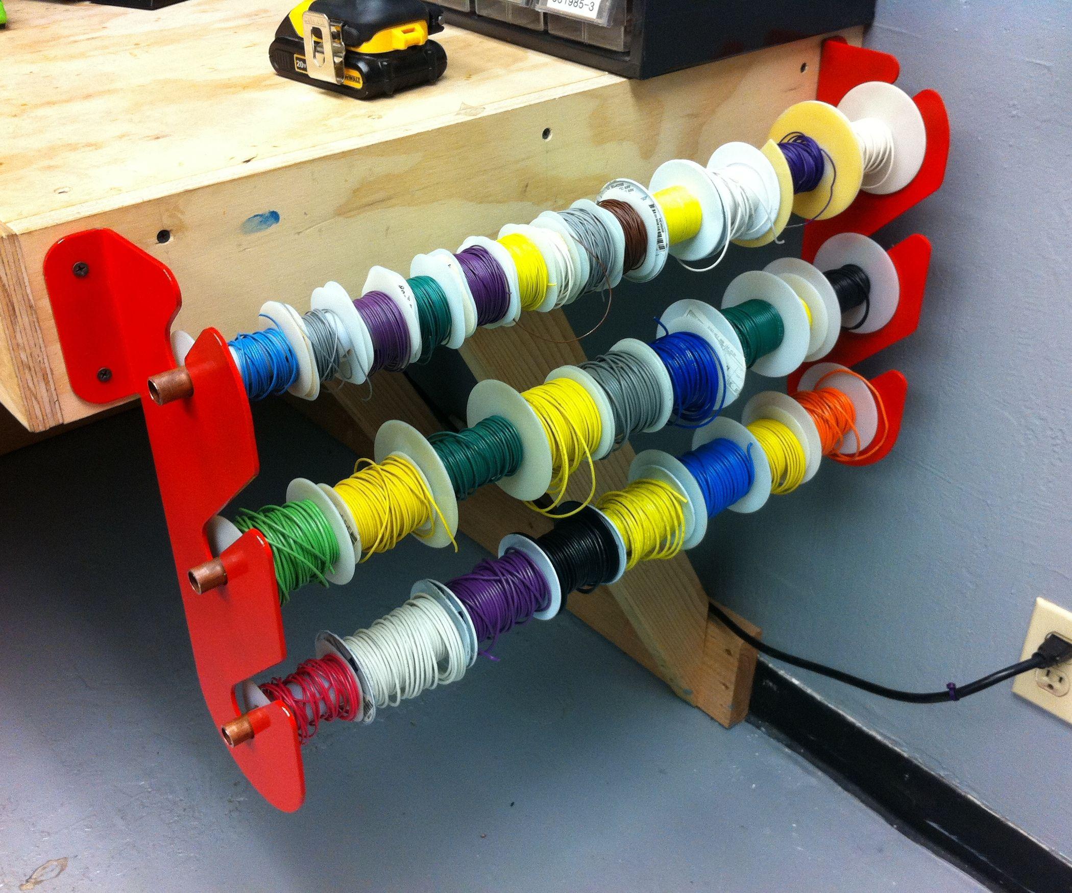 How to Make a Wire Rack | Brett Stuff | Pinterest | Wire racks, Shop ...