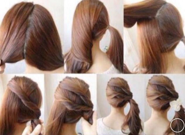 Beautiful and easy hair style step by step and more hair 25 pretty hairstyles easiest hair do diy easy ponytail hairstyle do it yourself fashion tips diy fashion projects on imgfave c solutioingenieria Images