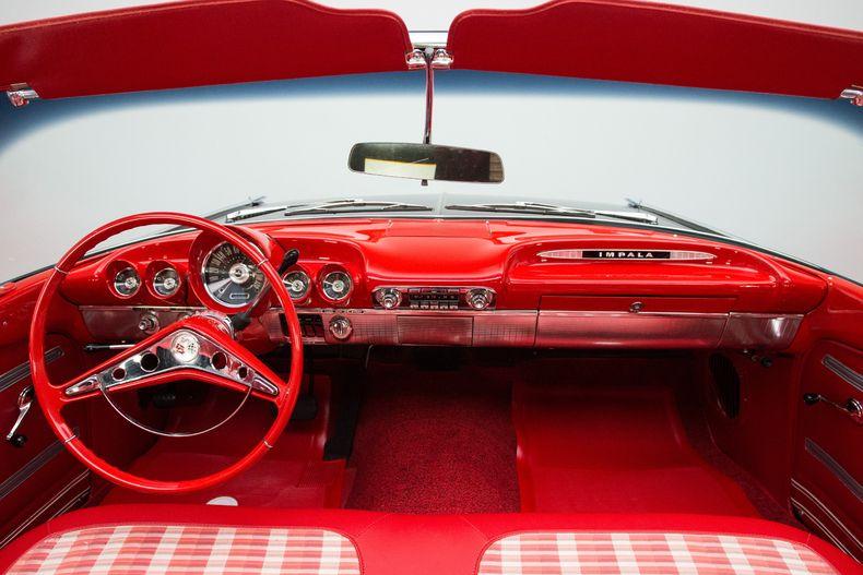 1959 Impala Interior 1959 Chevy Impala Chevrolet Impala Chevy Impala