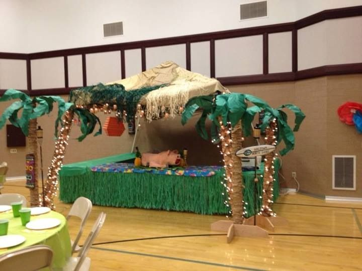 Senior Christmas Party Ideas Part - 32: Christmas In Hawaii Ward Party.