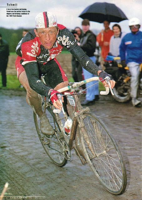 Rainy day for Tchmil | Cycling pictures, Bicycle girl, Cycling art