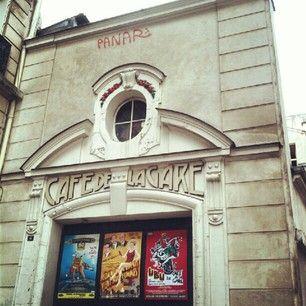 le Café de la Gare #theatre #Paris #France