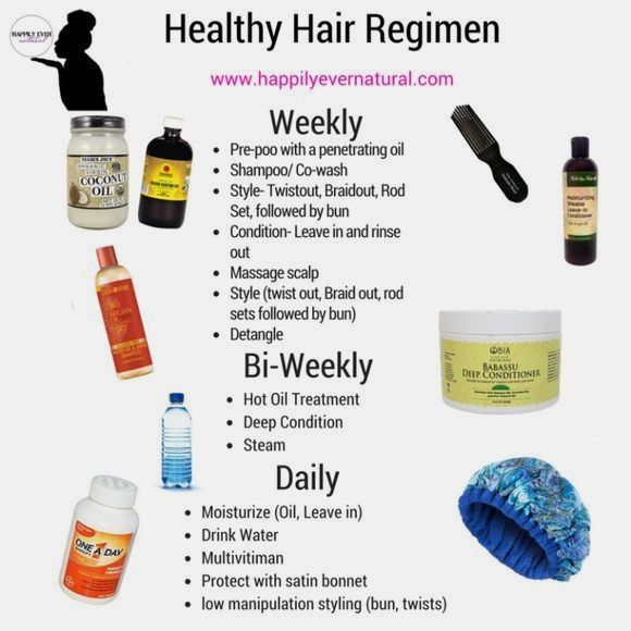 natural hair strategies for growth #naturalhaircare