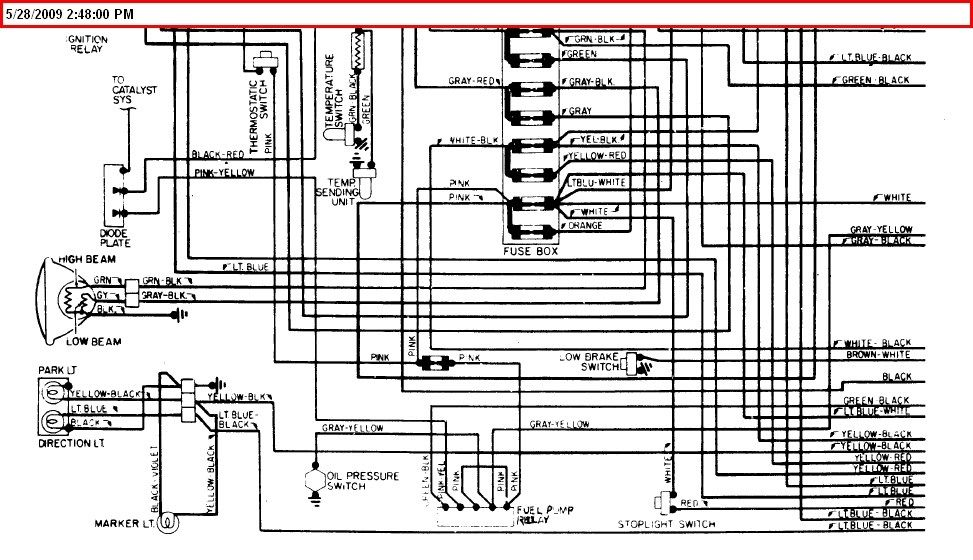 1975 corvette fuse box wiring diagrams chevrolet c6 2005 chevy impala fuse box wiring diagram