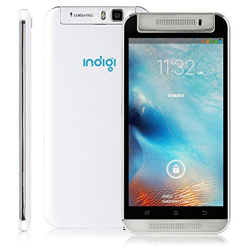 Indigi Gplus 55in 3G GPS DualSim QuadCore Android 44 Kitkat Smart Cell phone ATT TMobile Straight Talk Unlocked *** Click on the image for additional details.