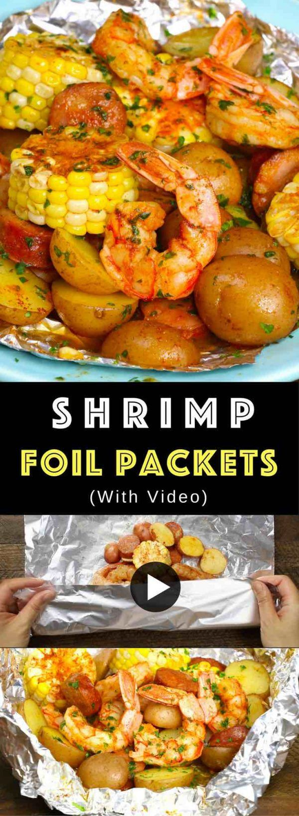Shrimp Foil Packets (with Video) - TipBuzz