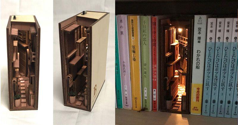 Dollhouse Miniature Bookcase Self Wooden Newspaper Shelf Newspaper Shelf