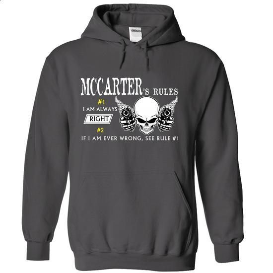 MCCARTER RULE\S Team .Cheap Hoodie 39$ sales off 50% on - #slouchy tee #tee time. MORE INFO => https://www.sunfrog.com/Valentines/MCCARTER-RULES-Team-Cheap-Hoodie-39-sales-off-50-only-19-within-7-days.html?68278