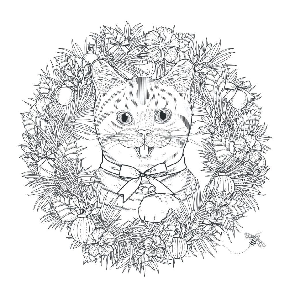 Cat Coloring Pages Cat Coloring Page Mandala Coloring Pages