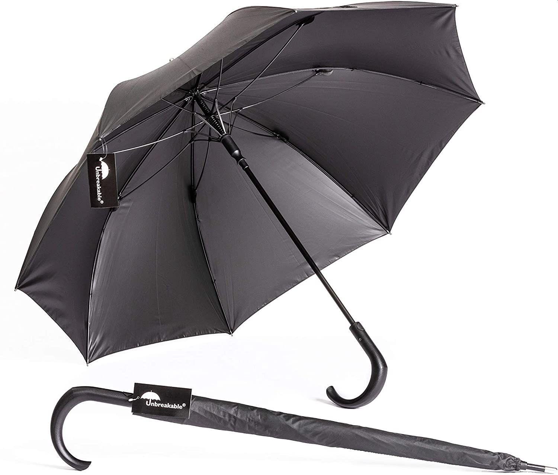 NTOI® Unbreakable® WalkingStick Umbrella Standard U115