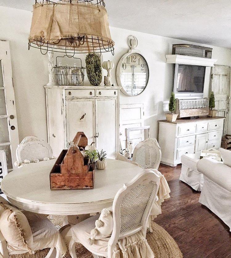 10 Inspiring Home Decor Instagram Accounts | Shabby, Farmhouse style ...
