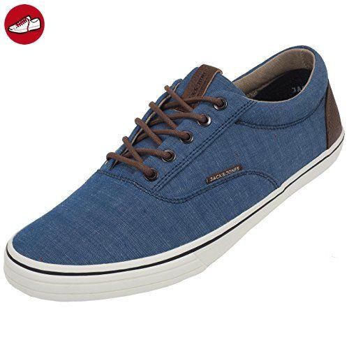JACK & JONES JFWSHARK Wool Combo Mid Sneaker, Herren Sneakers, Grau (Asphalt), 44 EU