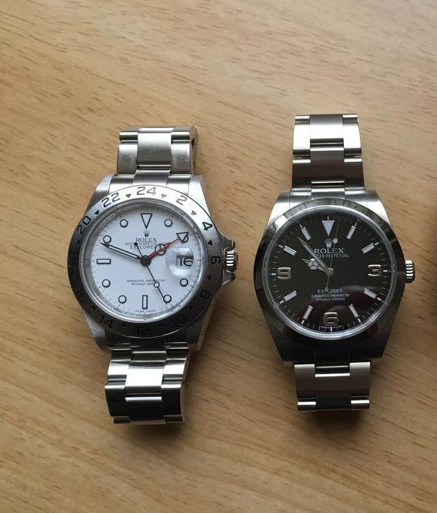 1a5594c0b88 EXPLORER II 16570 40MM vs EXPLORER 214270 39MM - Rolex Forums - Rolex Watch  Forum