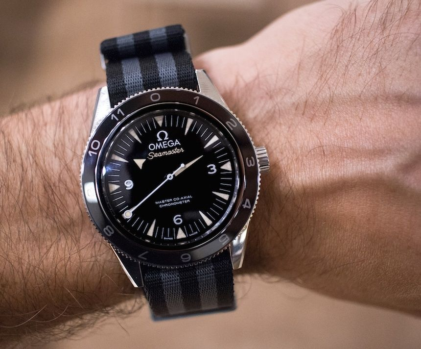 449b9ab5d57 Omega Seamaster 300 Spectre Limited Edition James Bond Watch Hands-On - by  James Stacey - have a look at the hands-on pictures   read more about this  ...