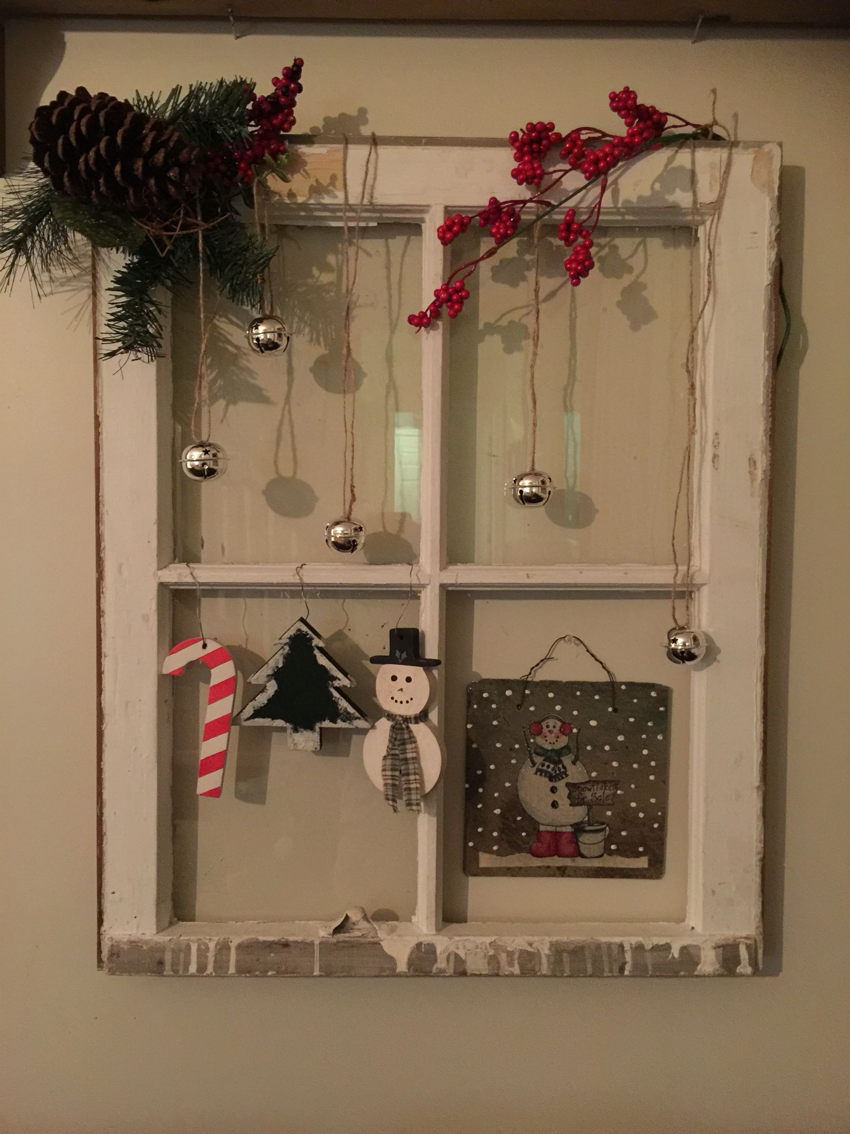 Window decor for christmas  christmas window decor  christmas  pinterest