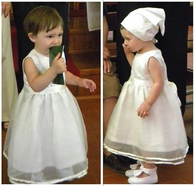 My little princess Christening dress (only thing I didn't made were the shoes)... #christening #dress #sewing