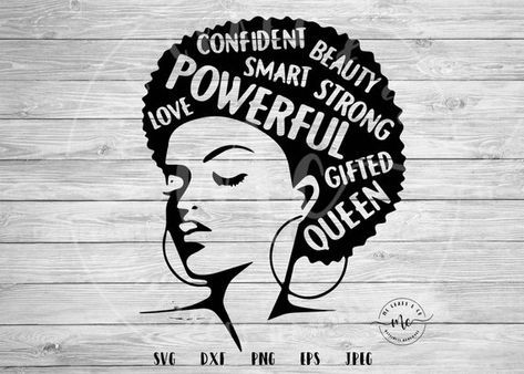 Photo of Black History Month, black history svg, afro svg, Afro Word Art, Female Empowerment, Strong Women, I Am Woman, fierce, cricut, svg, png, eps