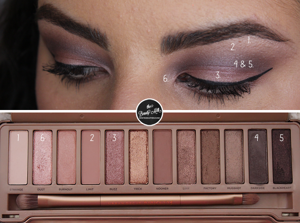 valentine 39 s day makeup 1 ft naked 3 palette urban decay urban and makeup. Black Bedroom Furniture Sets. Home Design Ideas