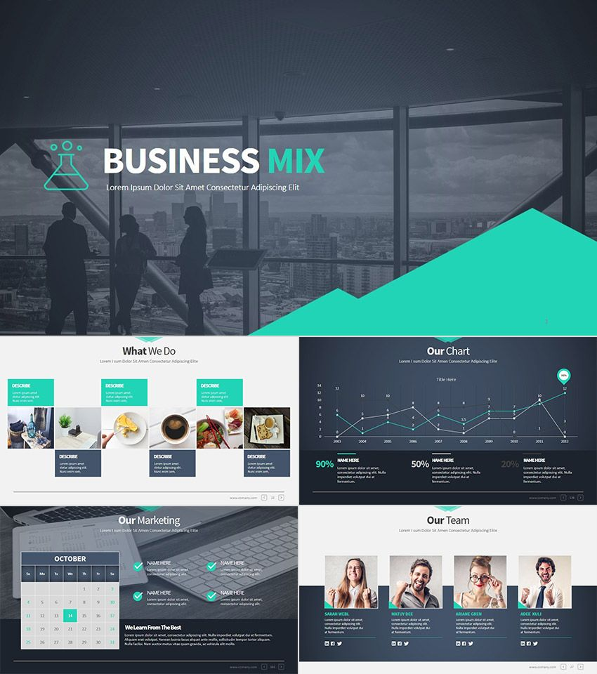 Free Business Powerpoint Templates 10 Impressive Designs: 32+ Professional PowerPoint Templates: For Better Business