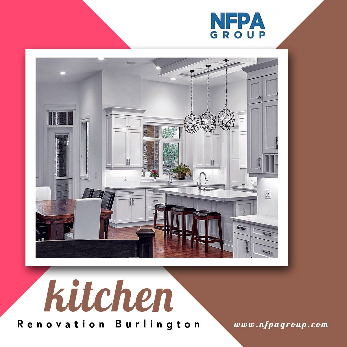Nfpa Construction Group Offer Kitchen Renovations In Burlington