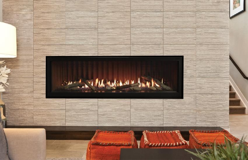 Empire Boulevard Direct Vent Contemporary Linear Gas Fireplace Electronic Ignition 48 Inch Dvll48bp92 Linear Fireplace Gas Fireplace Vented Gas Fireplace