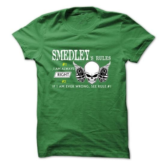 SMEDLEY RULE\S Team  - #shirt refashion #hoodie drawing. TRY => https://www.sunfrog.com/Valentines/SMEDLEY-RULES-Team--57451575-Guys.html?68278