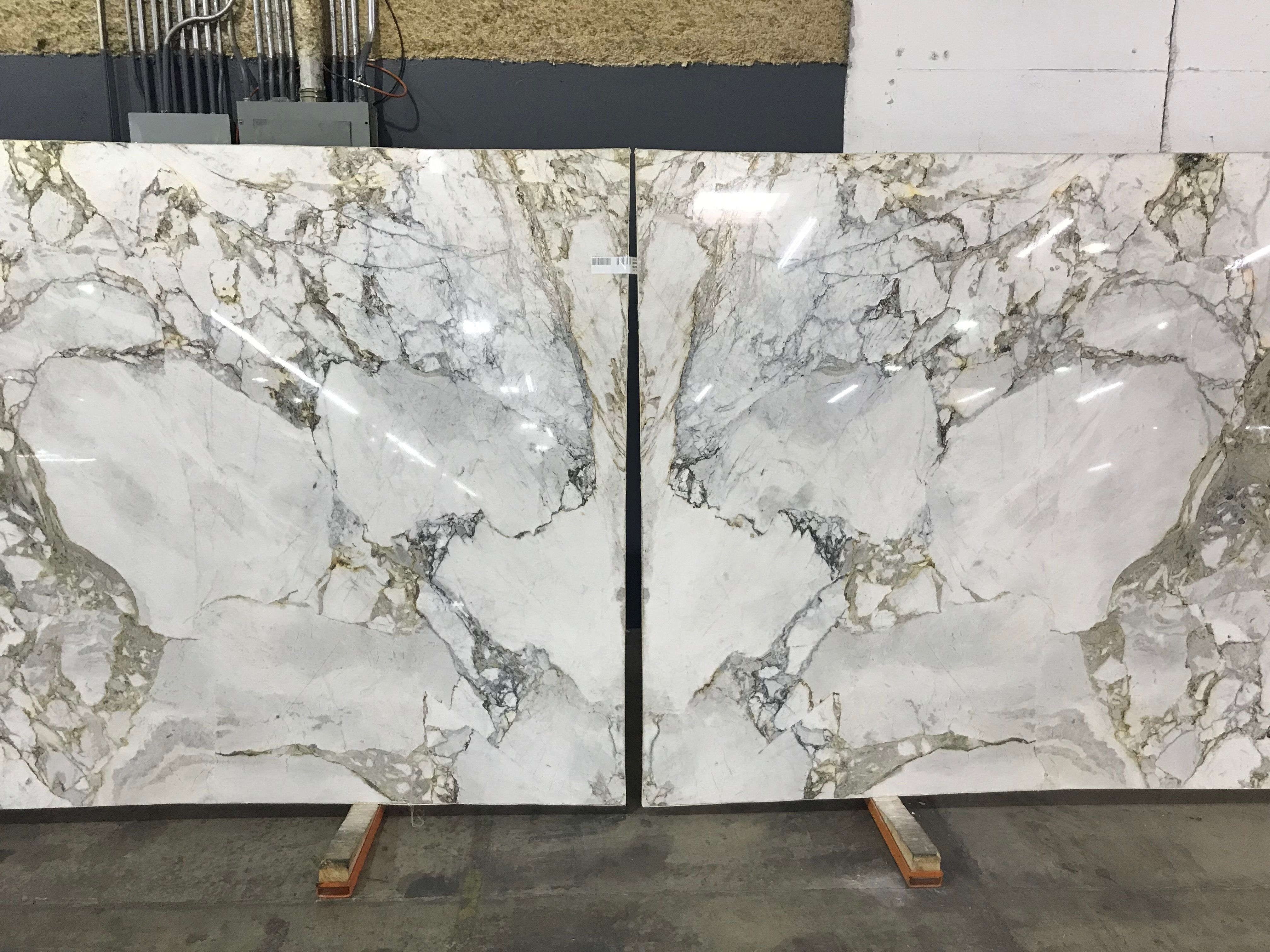 Calacatta Gold Marble Book Match By Allure Natural Stone In 2020