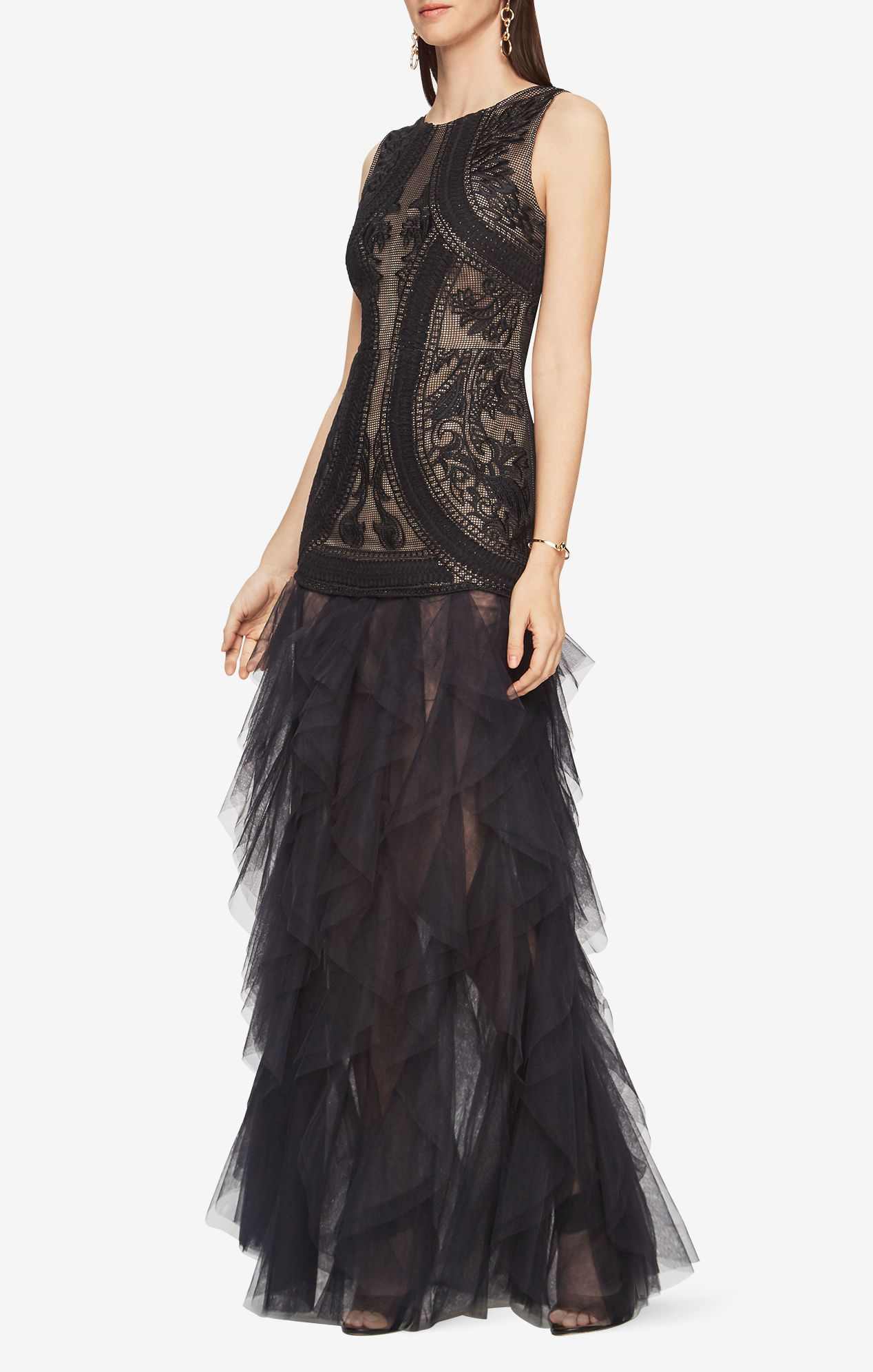 908989a34f Vivica Embroidered Gown