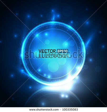 Vector abstract shiny design