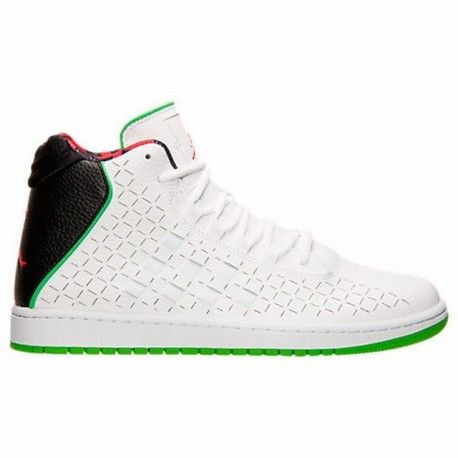 Nike Air Jordan Illusion Premium Basketball Shoes Men Black/Green/Red/White