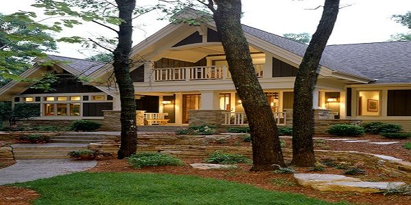 Luxury Home Exterior Design Ideas with Luxury Traditional Home