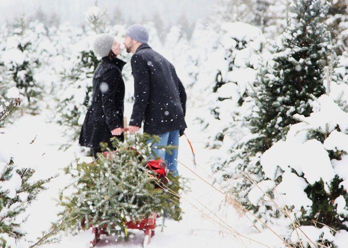 Как красиво фотографироваться зимой   Первое рождество ...