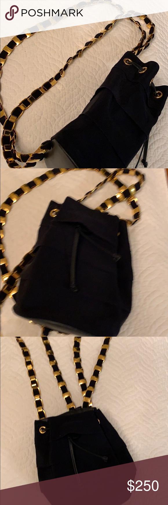0b3abd6b89 Navy blue Ferragamo couture backpack Navy blue Ferragamo backpack. Pristine  condition Shoulder straps have heavy gauge gold Ferragamo clasps over navy.