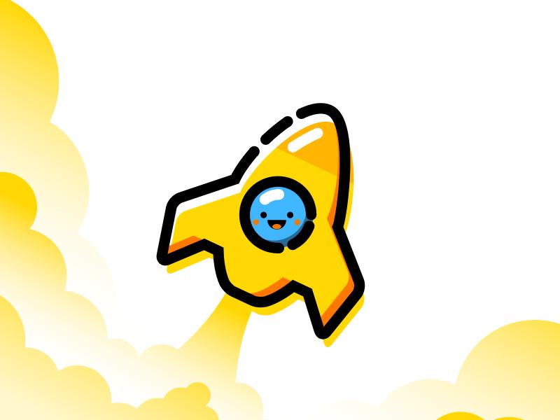 Rocket Emoji Vector Illustration Emoji Illustration