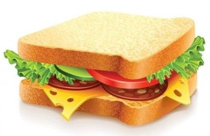 35 Free Food Vector Collections Food Clipart Summer Sandwiches Food
