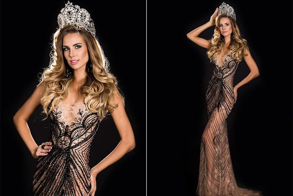 5fac787af94 Marthina Brandt realiza as fotos oficiais como Miss Brasil
