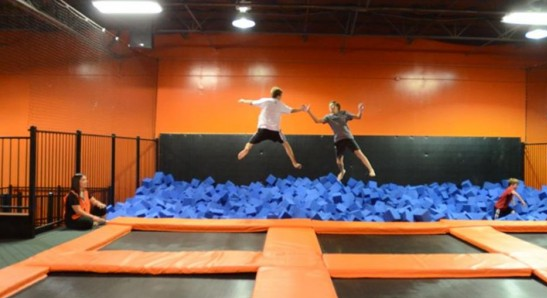 bounce high at urban air trampoline park this summer fun for kids in frisco trampoline park. Black Bedroom Furniture Sets. Home Design Ideas