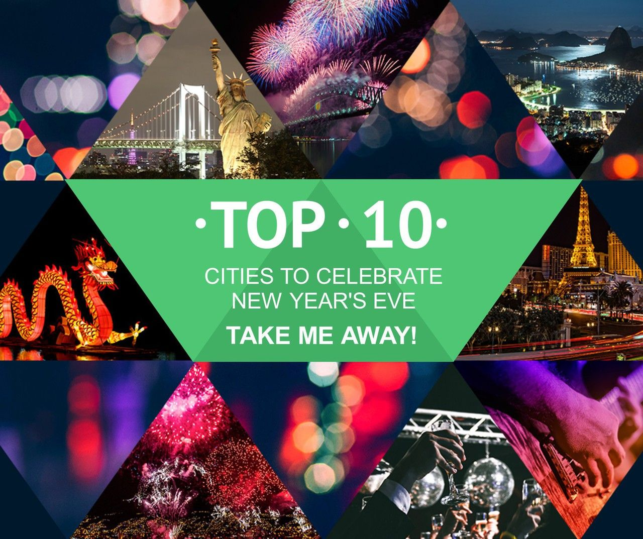 Have you celebrated in any of the top 10? 1. New York City