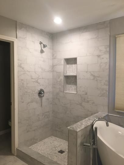 Msi Carrara 6 In X 24 In Glazed Porcelain Floor And Wall