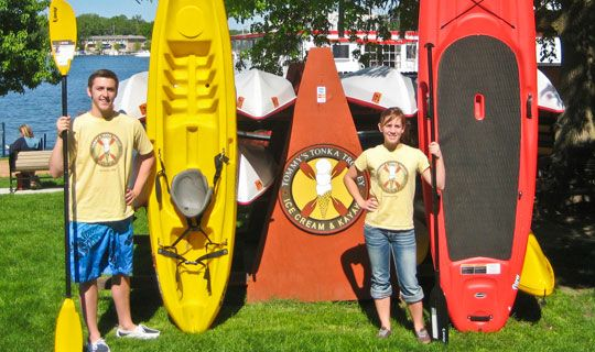 $16 - Kayak and Paddle Board Rentals on Lake Minnetonka - Let me know if you need a $10 discount code!