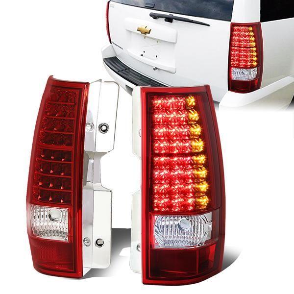 07 14 Chevy Tahoe Suburban Gmc Yukon Xl 1500 2500 Led Rear Brake Tail Lights Tail Light Gmc Yukon Chevy Tahoe