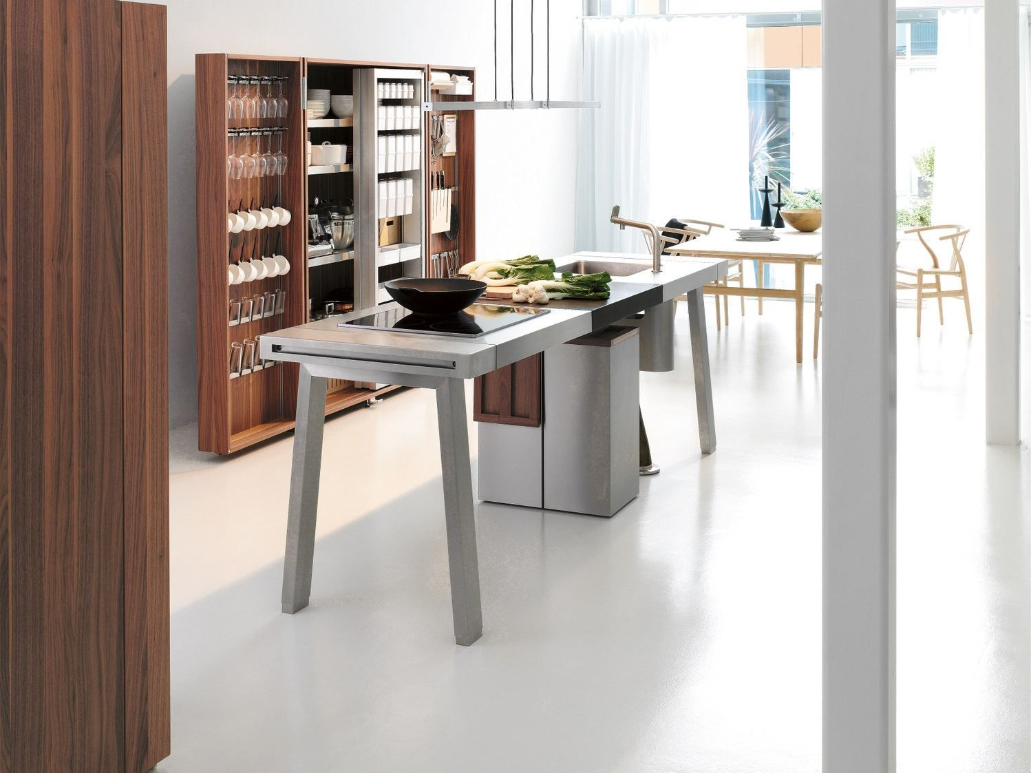 Fitted Kitchen B2 B2 Collection By Bulthaup Design Eoos Kitchen