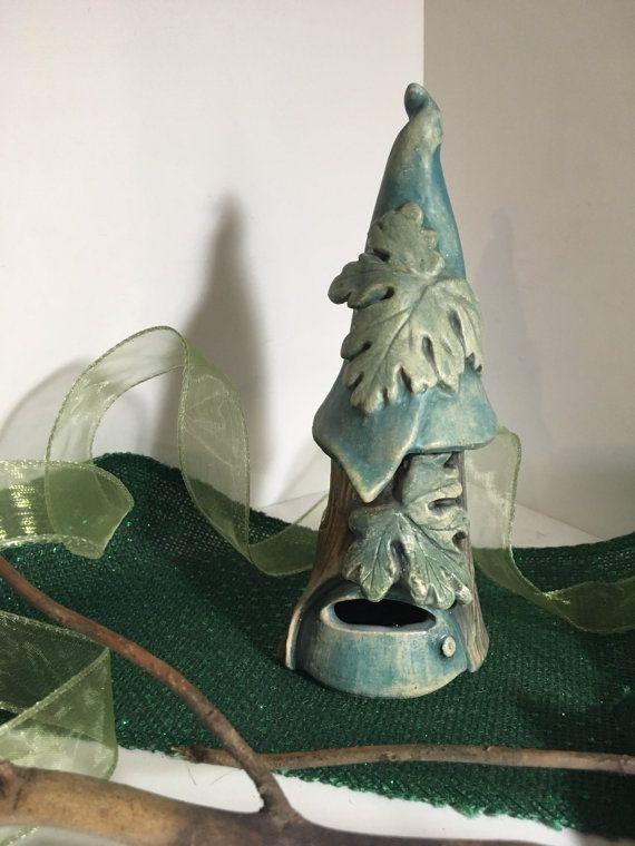 VENTA casa de hadas en azules y verdes uno de la misma por cyvonneh